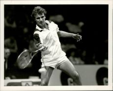 Tennis player Mats Wilander