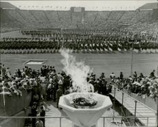 The opening of the OS -1948 at Wembley Station.