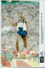 Carl Lewis - winner of the men's long jump
