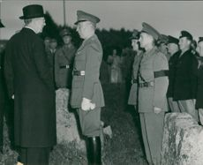 King Gustaf VI Adolf - The visit to Dalsland and Västergötland, August 1951