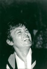 """Actor Alain Delon at the celebration of the film's """"Airport"""" 79 film, after the world premiere of Monte Carlo"""