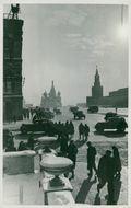 Red Square in Moscow 1946.