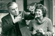 George Cole and margery mason.