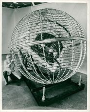 "America's second weather observation satellite ""Sputnik"""