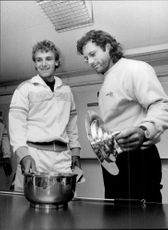 Guillermo Vilas shines on the cap to the mushroom terrain containing the bets that determine the game in the Davis Cup