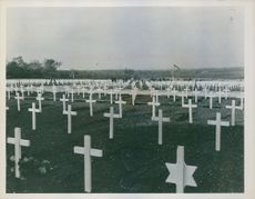U.S. Army cemetery in England.