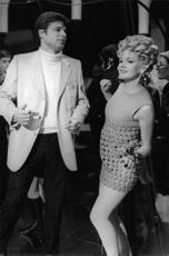 Carroll Baker dancing.