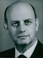 Portrait of South African politician P.W. Botha, 1966.