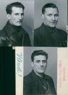 The three suffered from the explosion accident in Björkborn's military industry. Fr. V. Gunnar Persson, Axel Grahn and Viktor Lundmark