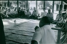 Every third or fourth Samoan is a chief of some sort, and to the casual observer the mahood of the villages seems forever to be engaged in lengthy conferences at their assembly huts.