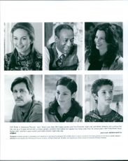 """An article about the cast of the movie """"Jack"""" starring Robin Williams, Diane Lane, Bill Cosby, Fran Drescher, Brian Kerwin, Jennifer Lopez and Adam Zolotin."""