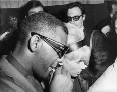 Ray Charles and Rita Johnson