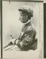 A mud-splattered Princess Anne after finishing unplaced