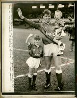 Kevin Ratcliffe: Kevin ratcliffe with his children.