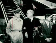 Douglas MacArthur with Philip whitehead