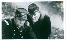 "A photo of Jeff Daniels and Kevin Conway in a film ""Gettysburg"" - 1993"