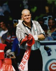 Golf player John Daly during Scandinavian Masters 1995