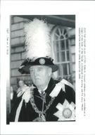 Viscount William Whitelaw installed as a Knight