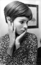 Close up of Geraldine Chaplin.