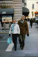 Dolph Lundgren and his wife Anette during a shopping trip in New York.