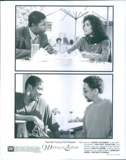 Dennis Haysbert , Loretta Devine, Whitney Houston and Gregory Hines stars in the film, Waiting to Exhale.