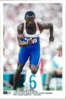 OS in Atlanta. Linford Christie (Great Britain) 200m