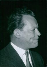 A side view portrait of Willy Berlin.