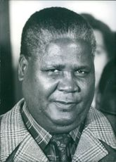 Portrait of Joshua Nkomo, 1977