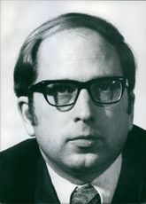 U.S. Senators Portrait of Democratic Senator from Georgia since 1972 Sam Nunn.