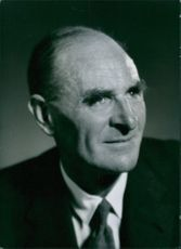 Portrait of Chairman of the Royal Commission on Doctors Pay, Sir Harry Pilkington .