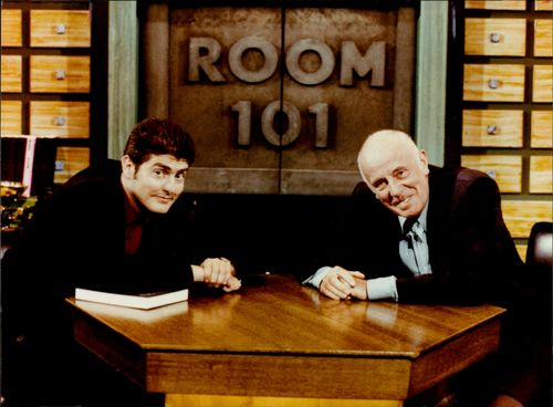 Television Room 101:Nick hancock and richard williams.