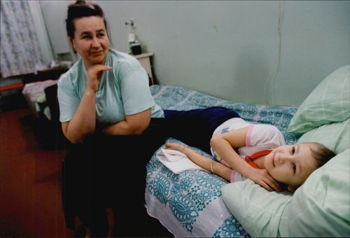 It is a tough fight for the lives of Chernobyl-injured children.
