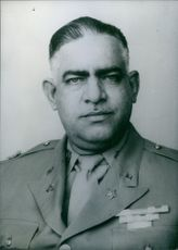 Portrait of Juan E. Perez Guillen, 1967.
