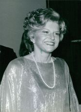 "Elizabeth Ann ""Betty"" Ford smiling."