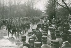 Past the march of General Wrangel.