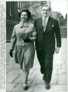 Denis Healey and his wife Edna
