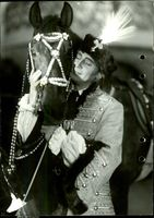 """Lars Egge in the """"Devil Rider"""" at the Oscar Theater"""