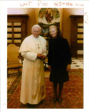 The Pope and and Duchess of Kent
