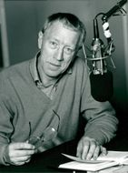 Max von Sydow radio actors on the National Radio P1