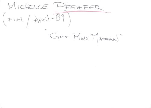 """Michelle Pfeiffer in the movie """"Married to the Mafia"""""""
