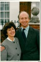 Timothy Smith with his wife.
