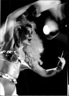 Nina Hagen at the Jazz Festival in Montreux
