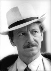 Ronald Alfred Pickup wearing a hat.