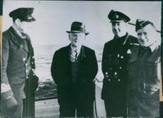 British make daring raid on Norway John Hawes, Norwegian manager of Allen & Hanbury Co., shown on a British ship after he was rescued during the raid on the Lofoten islands which the British made.