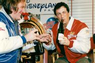 Sylvester Stallone, at Planet Hollywood Paris Disney