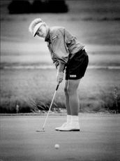 Golf player Lotta Neumann