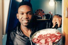 """Portrait picture of Dr Alban taken in connection with the recordings of """"Right of Day""""."""