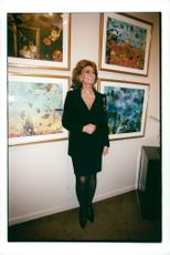 Sophia Loren at Jean Barthet's Vernissage in Paris