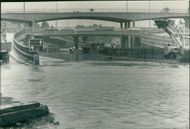 Floods 1966-1989:The brent cross flyover.