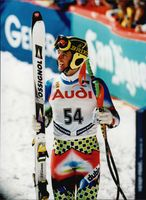 Alpine World Ski Championship. Tejs Broberg from Denmark